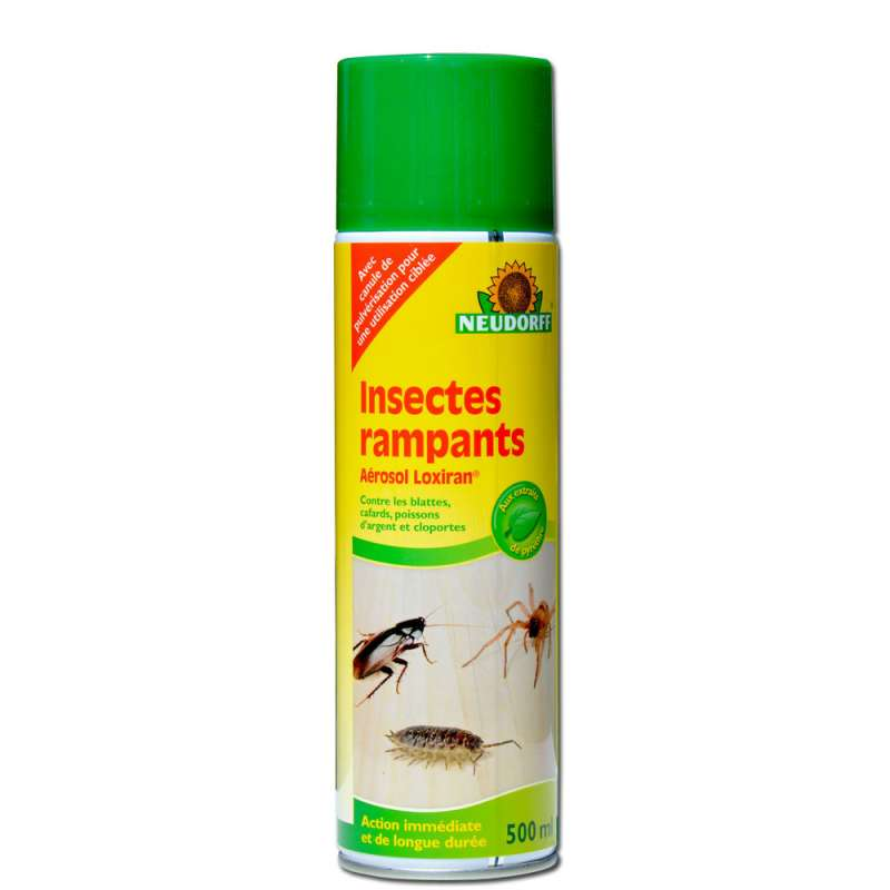 bombe a rosol cologique contre les insectes rampants 500 ml. Black Bedroom Furniture Sets. Home Design Ideas