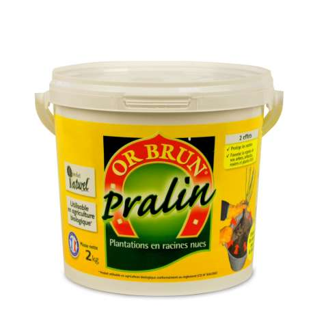 Pralin traditionnel toutes plantes Or Brun UAB Seau 2 kg