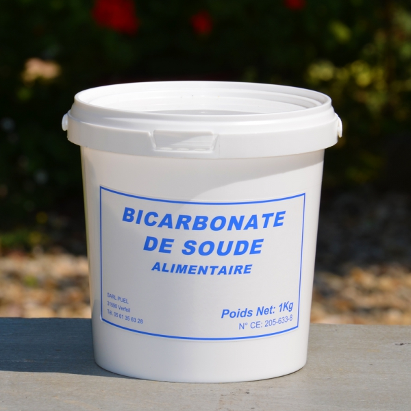 Bicarbonate de soude alimentaire 1 kg for Bicarbonate de soude comme desherbant